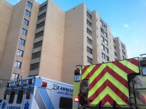 Carnegie Elevator Rescue/Oven Fire